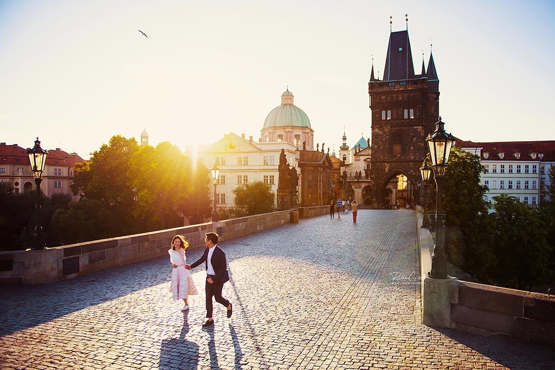 předsvatební fotografování v Praze