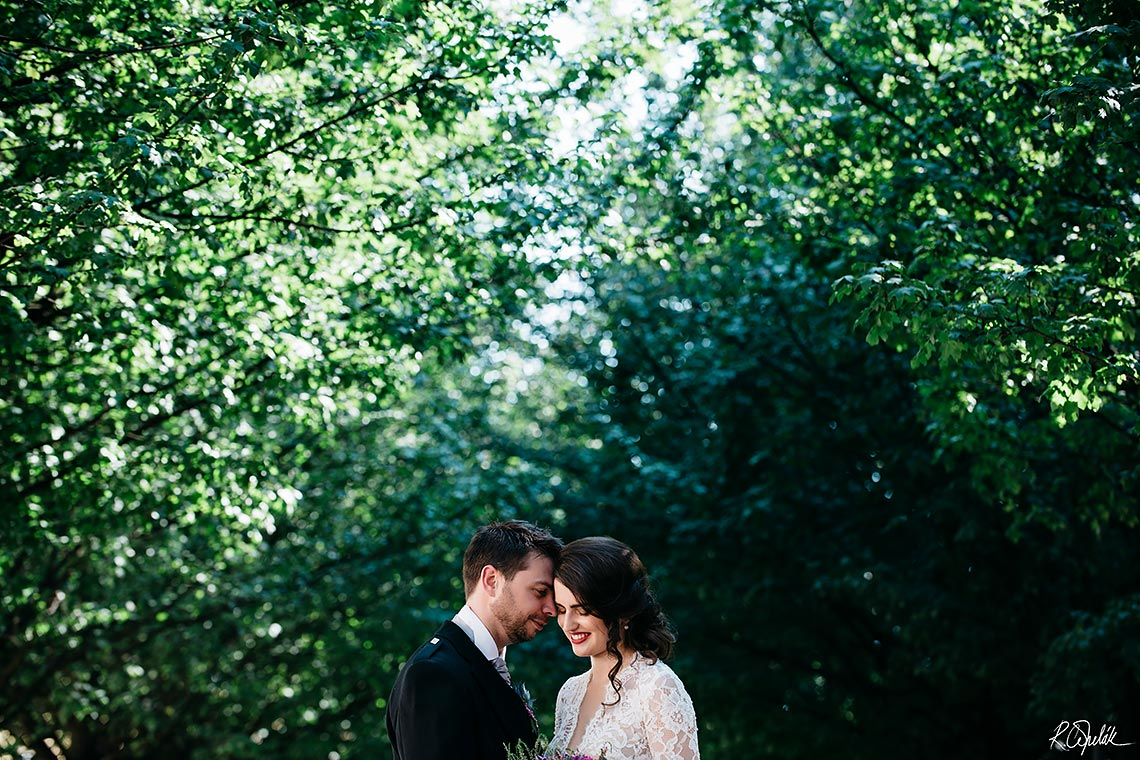 česko skotská svatba