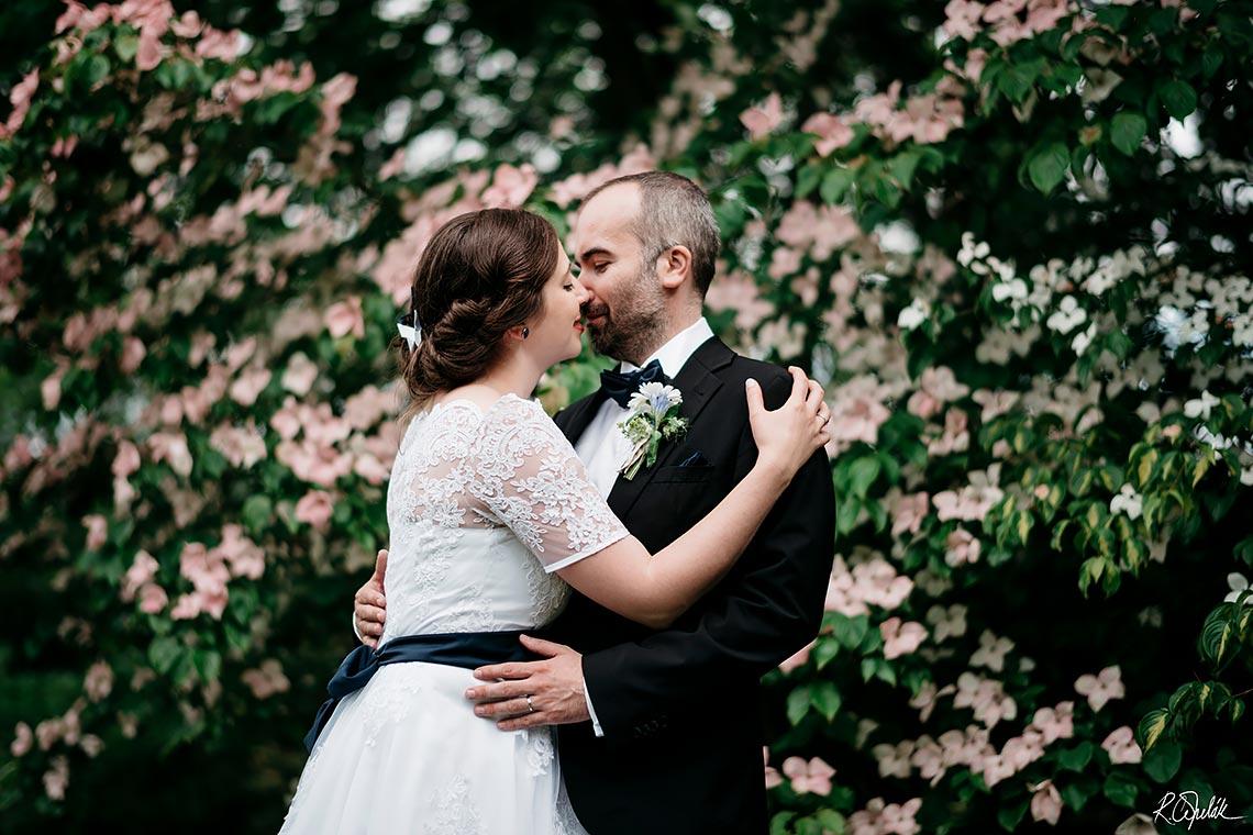 jarní svatební fotografie