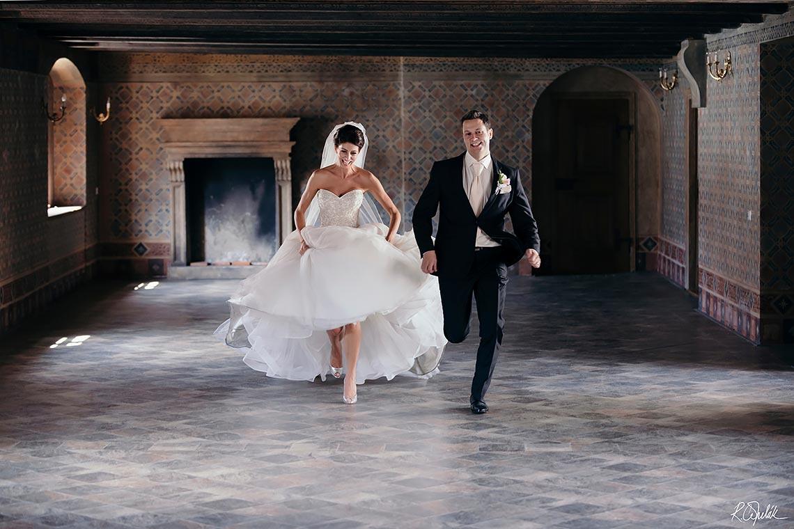 svatební fotografie Martinický palác