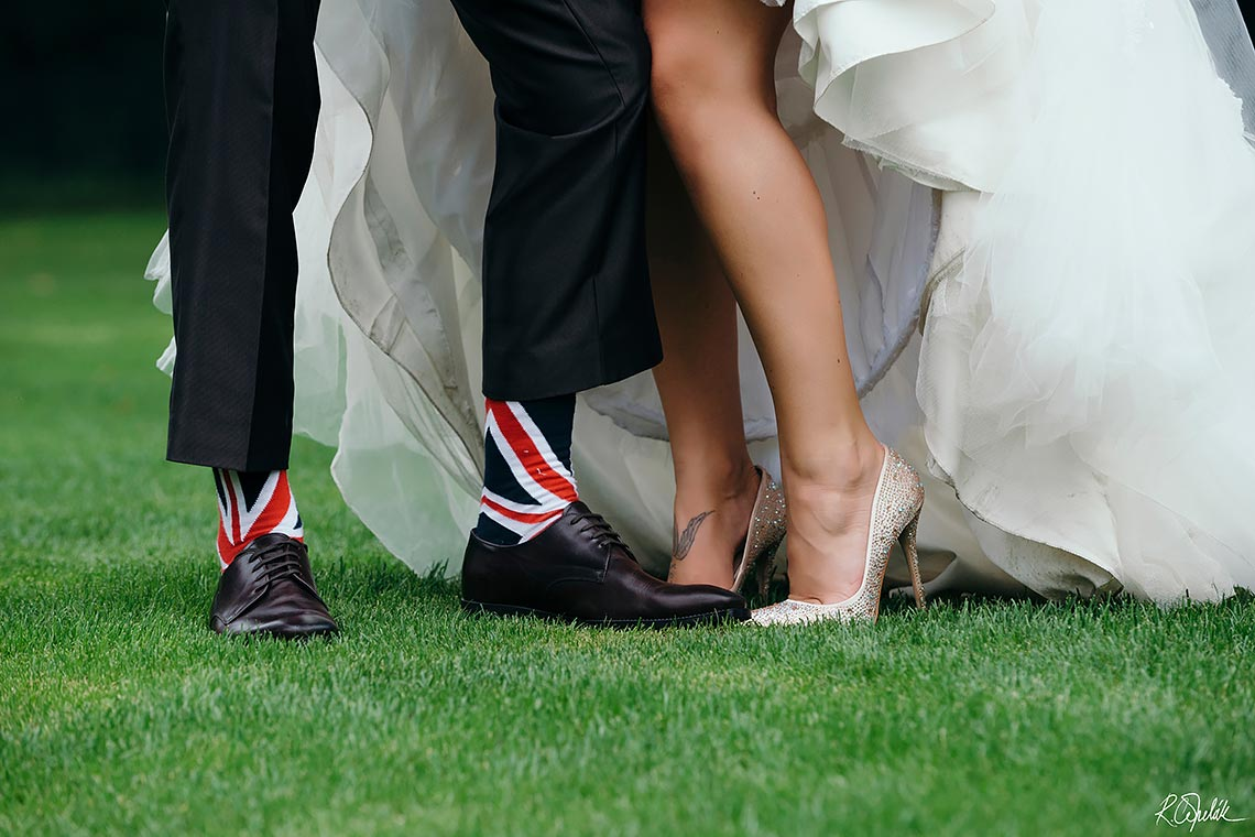 česko britská svatba