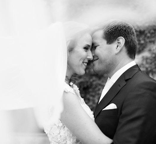 svatební focení novomanželů